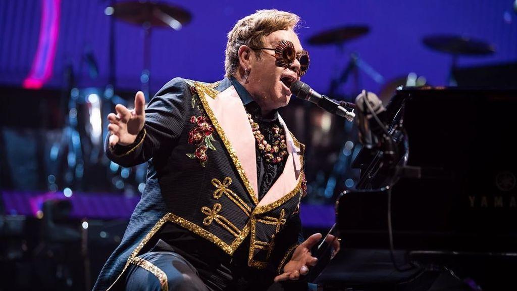 """""""Estoy extremadamente enfermo"""", Elton John cancela su concierto en Indianápolis"""
