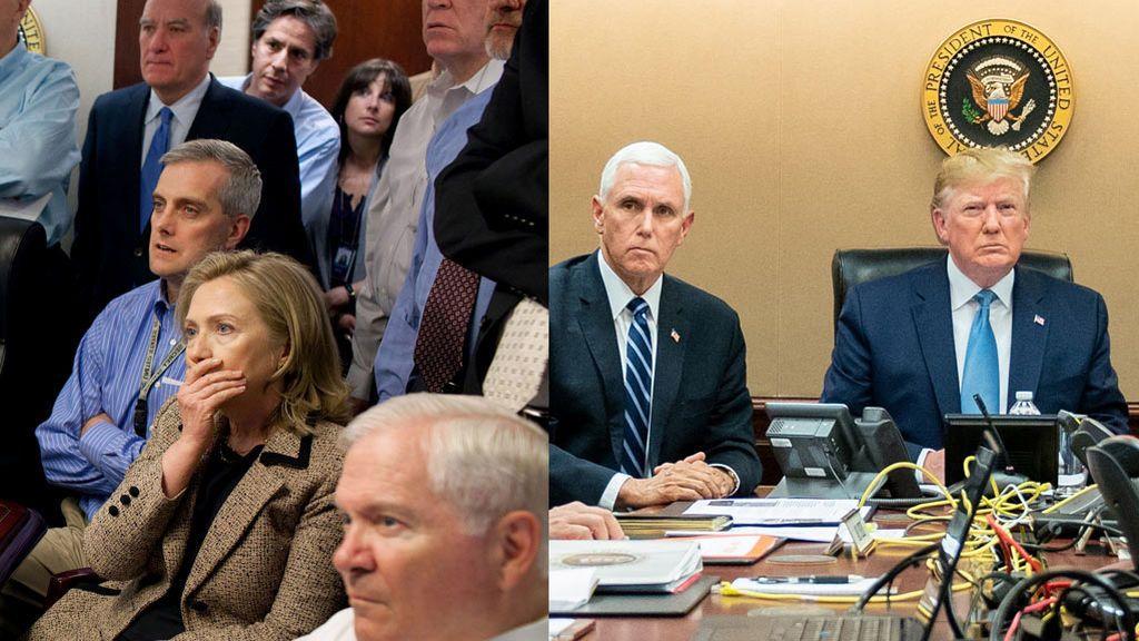 'The Situation Room': dos imágenes muy distintas de dos momentos casi idénticos