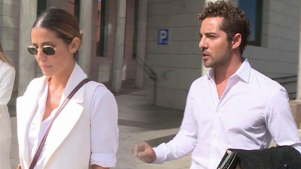 David Bisbal y Elena Tablada se vuelven a ver las caras en un juzgado