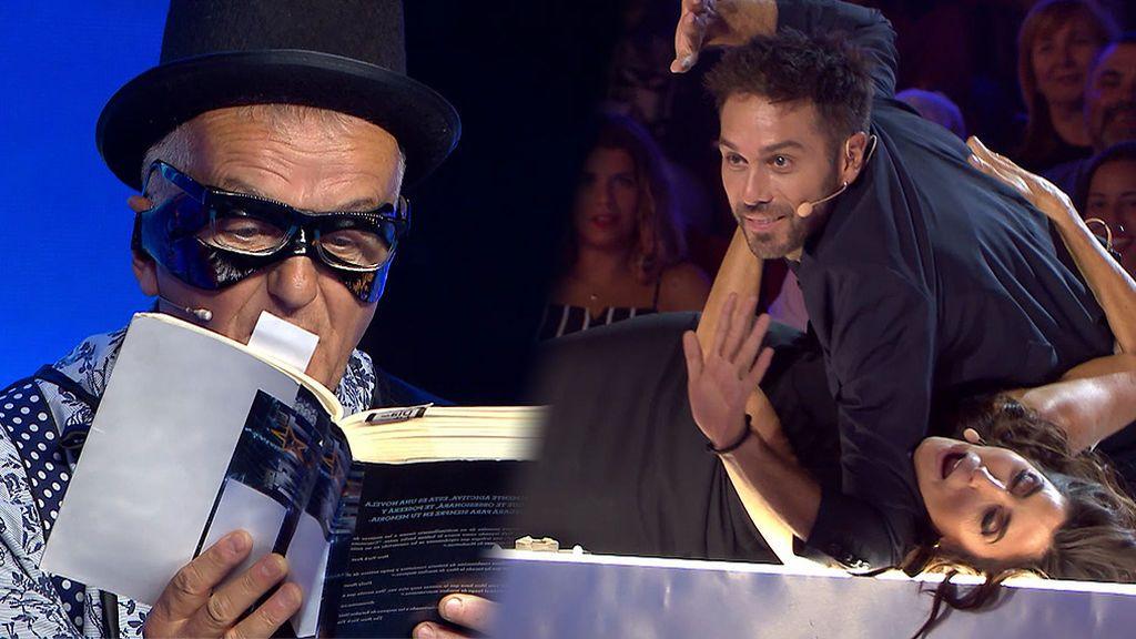 Fernando vuelve loca a Paz Padilla con su monólogo y su particular lectura de '50 sombras de Grey'