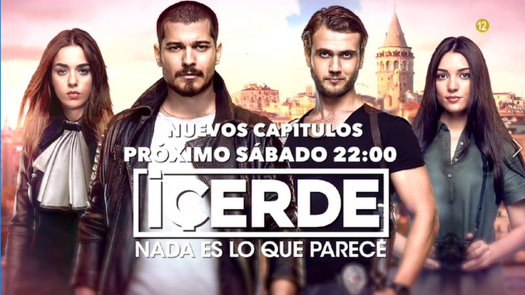 'Içerde', los sábados a las 22:00 horas en Divinity
