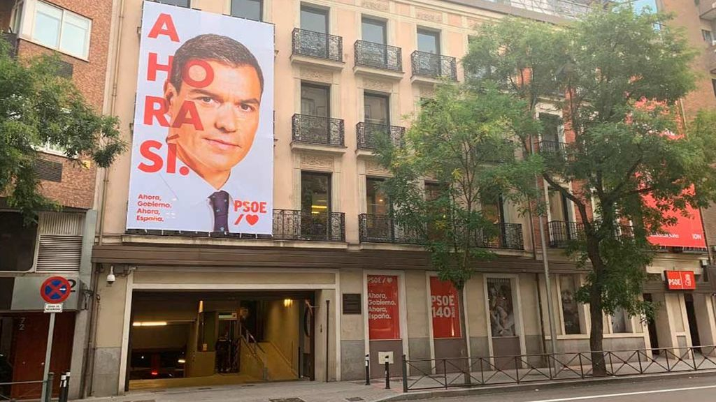 """Sánchez presenta su campaña para las elecciones del 10N bajo el lema: """"Ahora, sí"""""""