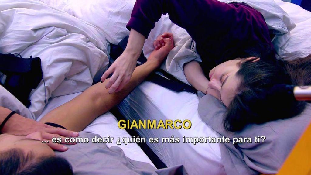 Cosquillitas y confesiones en la cama: Adara y Gianmarco, más unidos que nunca