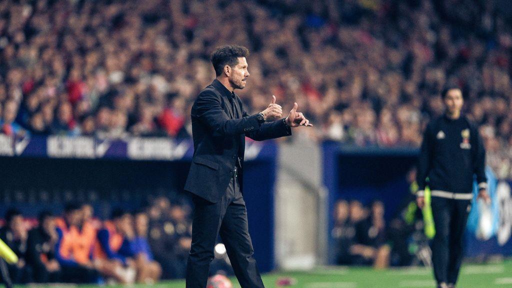 """Simeone habló claro en rueda de prensa: """"Es normal que Costa tenga preocupación por el gol. A Morata lo veo más libre y suelto"""""""