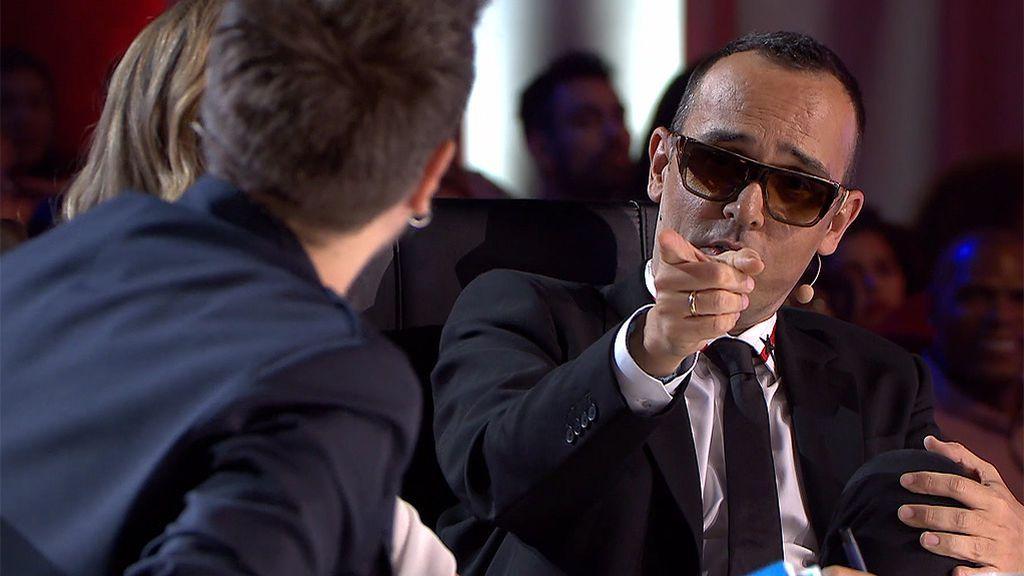 La curiosa explicación de Risto Mejide a por qué siempre lleva gafas de sol