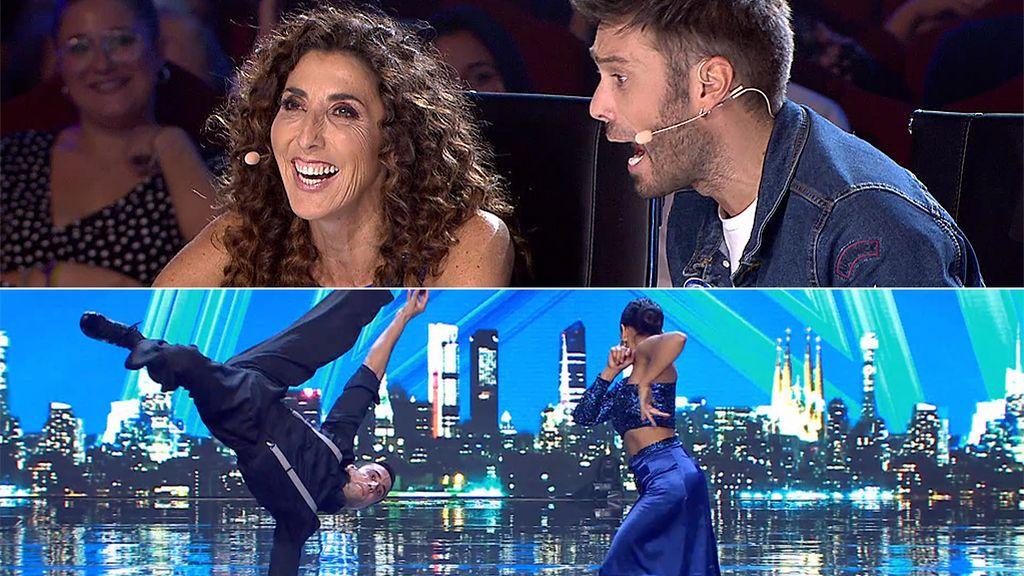 El cómico momento de La Chusa y Dani Martínez para dar el veredicto a Malena y José