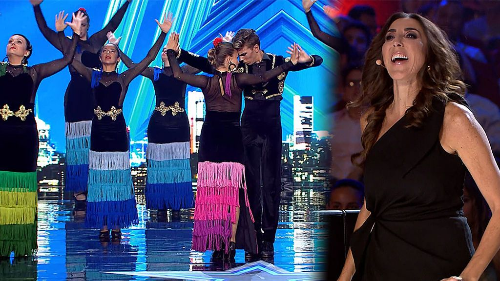 Paz Padilla se lanza a bailar flamenco con la coreografía de la 'Escuela de baile CML'