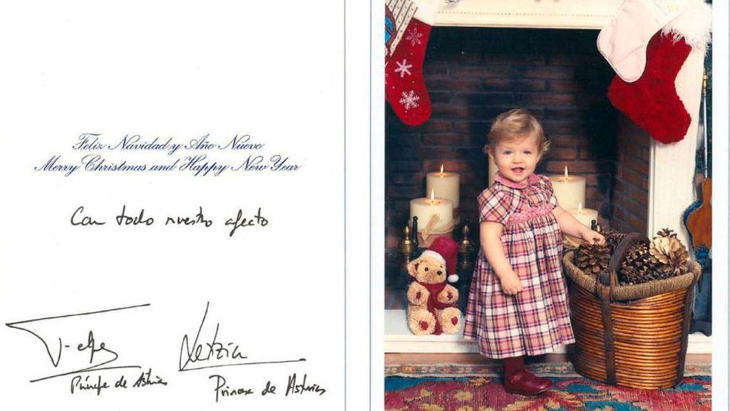 Desde pequeñita nos ha felicitado la navidad