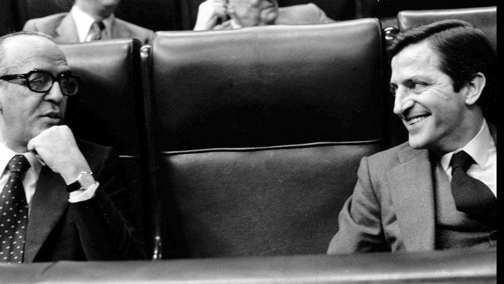 Adolfo Suárez en el Congreso de los Diputados
