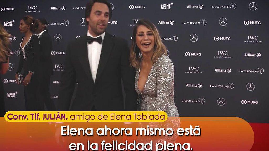 Julián, amigo de Elena Tablada, desmiente que ella quiera lucrarse de su hija