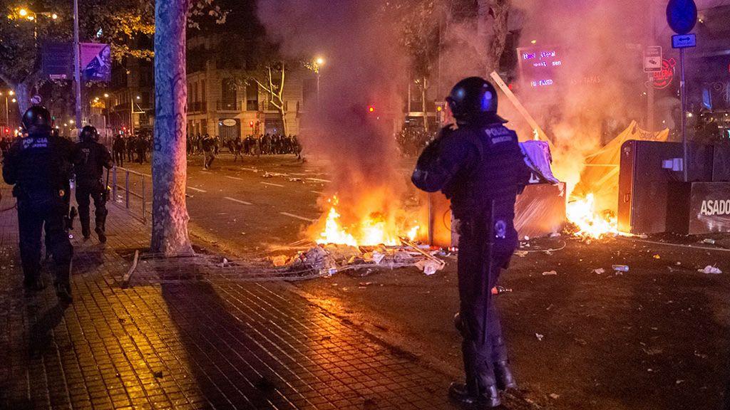 Una de las acciones de los mossos auditadas