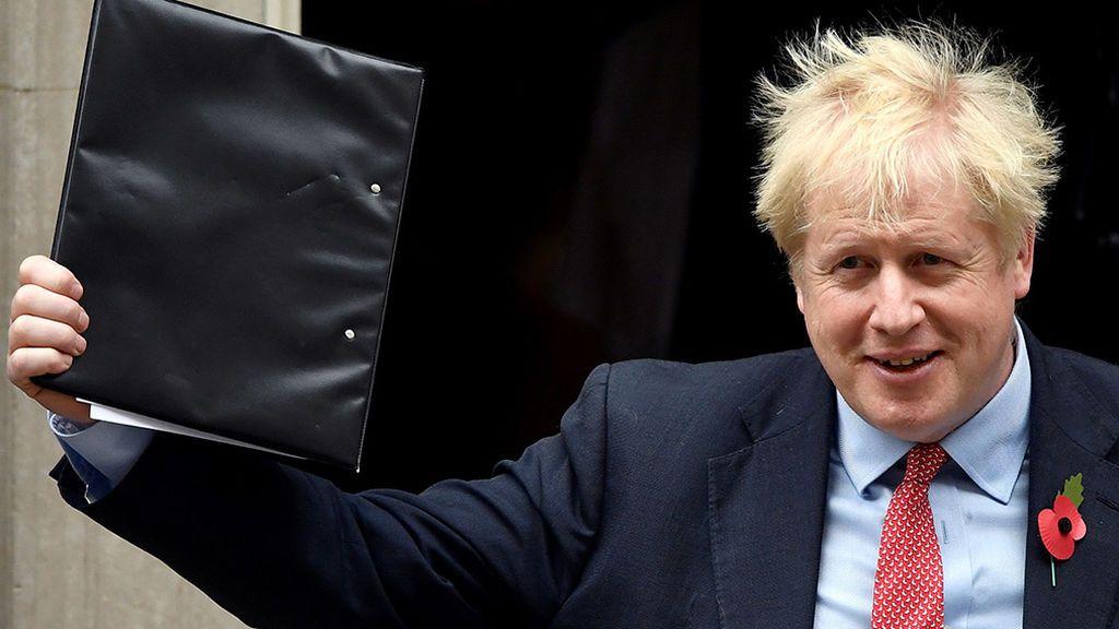 El Parlamento británico da luz verde a la celebración de elecciones el 12 de diciembre