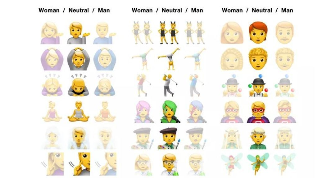 Emojis neutrales