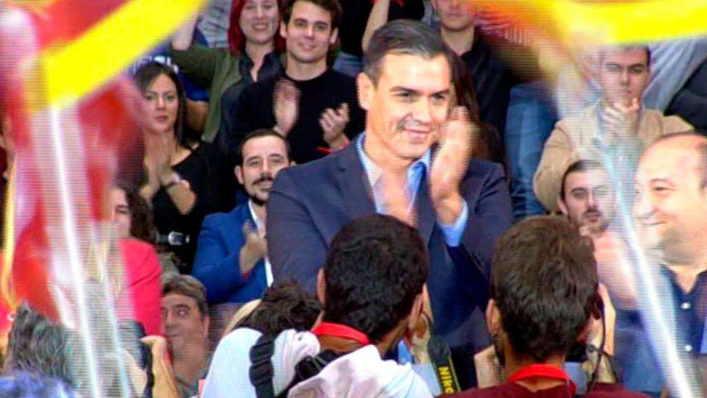 Pedro Sánchez en Viladecans
