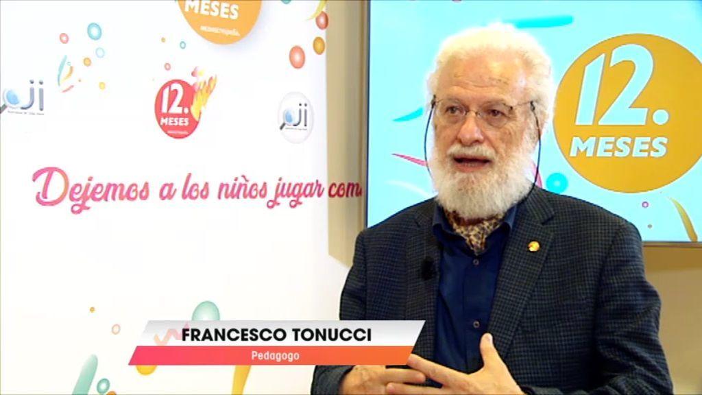 """Tonucci: Los aprendizajes que se hacen en esta etapa no tienen igual en toda la vida"""""""