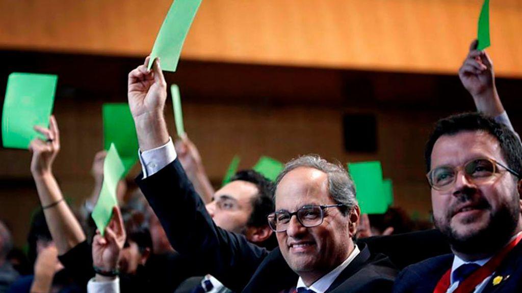 La Asamblea de Cargos Electos pide la amnistía para los condenados por el 'procés'