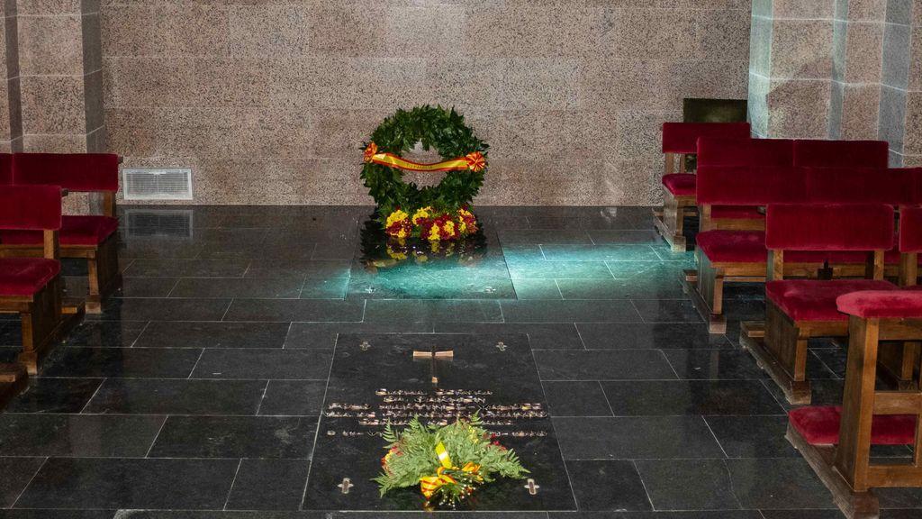 Primeras imagenes de la tumba de Franco en Mingorrubio
