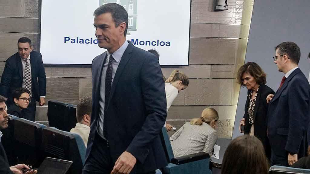 La Junta Electoral expedienta a Sánchez por el uso electoralista de La Moncloa