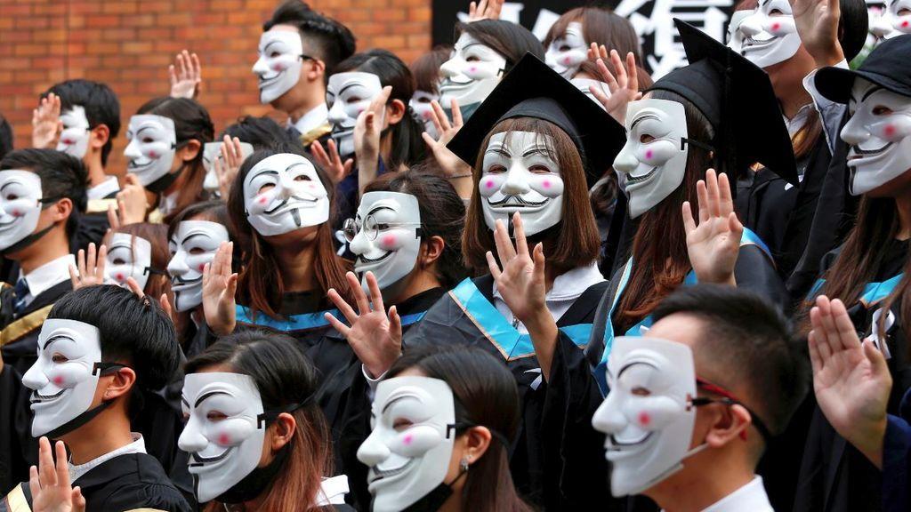 Las protestas y la inestabilidad política provocan recesión en HK por primera vez en una década