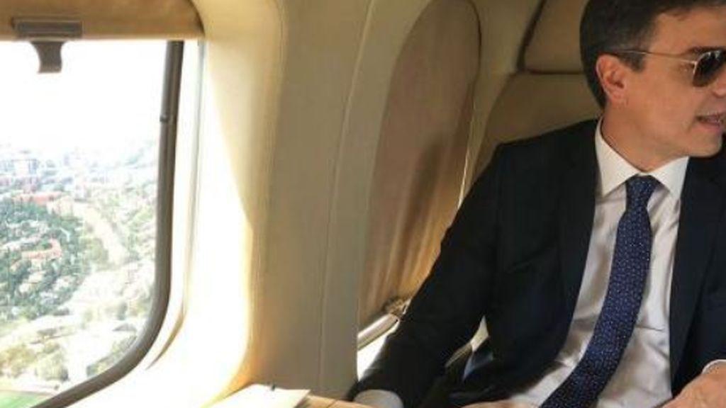 Rajoy tuvo el susto con el helicóptero y Sánchez con el avión: tiene que aterrizar por una despresurización
