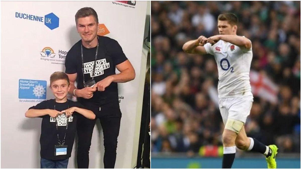 El significado del gesto del capitán de Inglaterra de rugby: la lucha contra la distrofia muscular