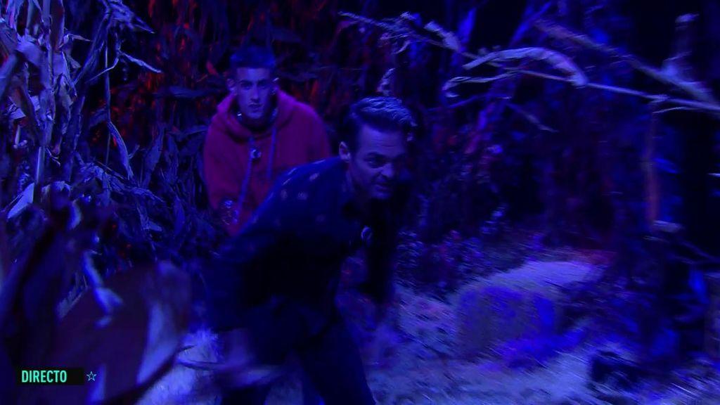 El Cejas y Hugo tienen que superar juntos el pasaje del terror antes de la repesca