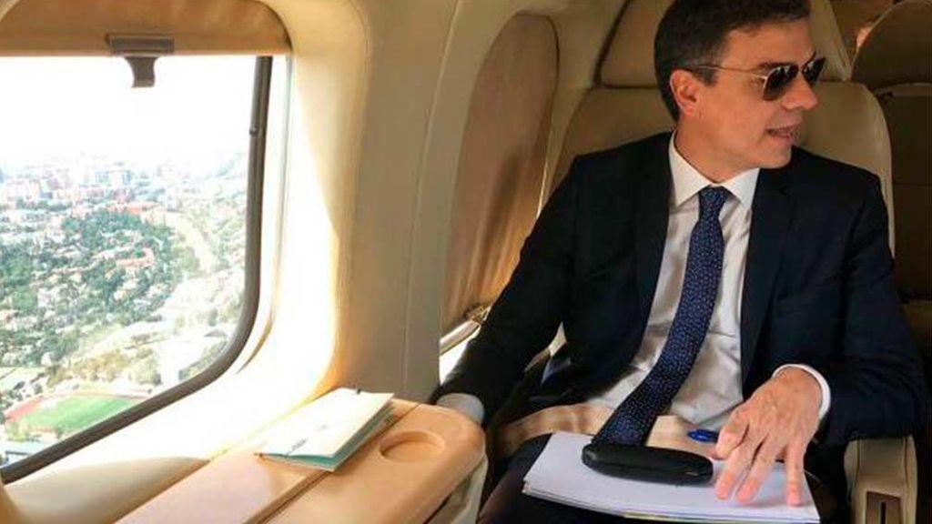 Una averia en el avión del presidente Sánchez le impide acudir a un acto a Murcia