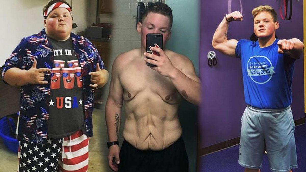 """Ethan Taylor y su historia de superación perdiendo 84 kilos para correr la maratón de Chicago: """"Soy mucho más feliz ahora"""""""