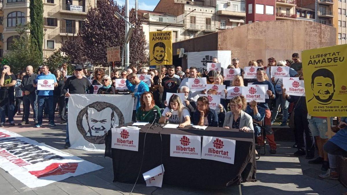 """Familiares de encarcelados en las protestas por la sentencia del 1-O piden su """"liberación inmediata"""""""