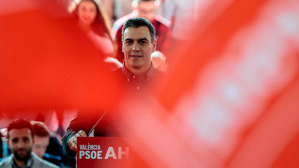 """Sánchez apela al """"voto útil"""" al PSOE para evitar el """"bloqueo político"""""""