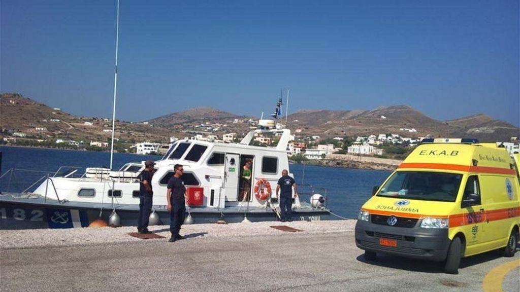 Vecinos de la isla de Cos liderados por su alcalde impiden el desembarco de 75 inmigrantes