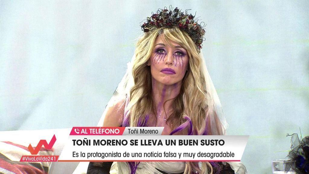 Toñi Moreno, víctima de una fake new