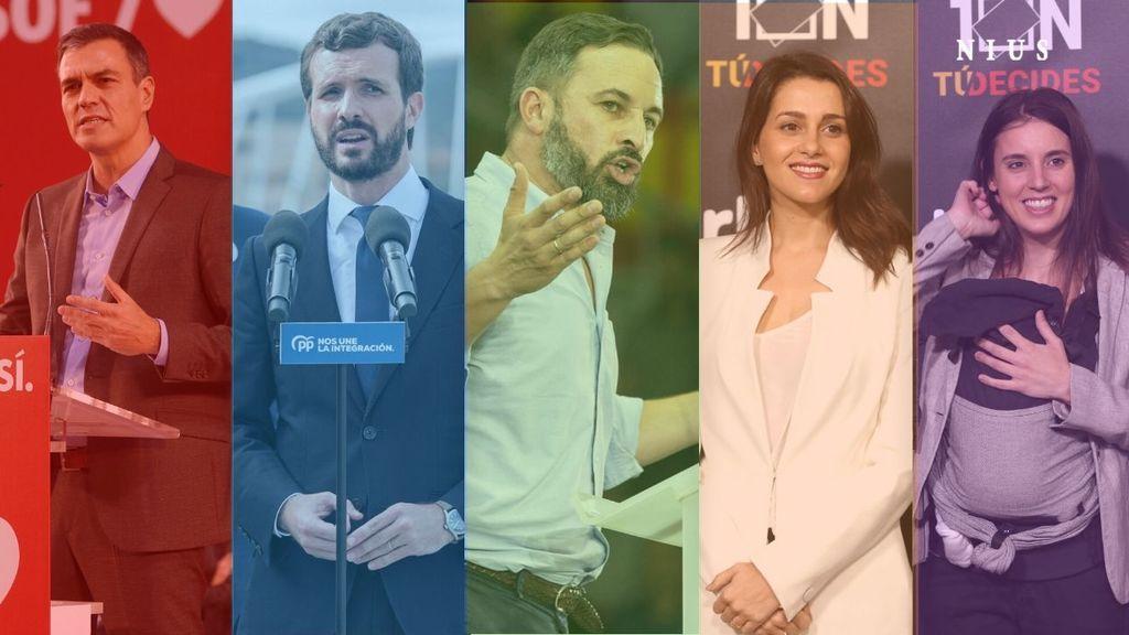 En directo: tercer día de campaña electoral