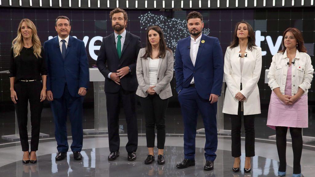 """Los partidos mantienen sus posiciones sobre los pactos y ERC apuesta por un Sánchez débil para """"dialogar"""""""