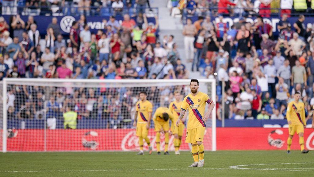 Un Barça sin ideas se deja remontar ante el Levante (3-1)
