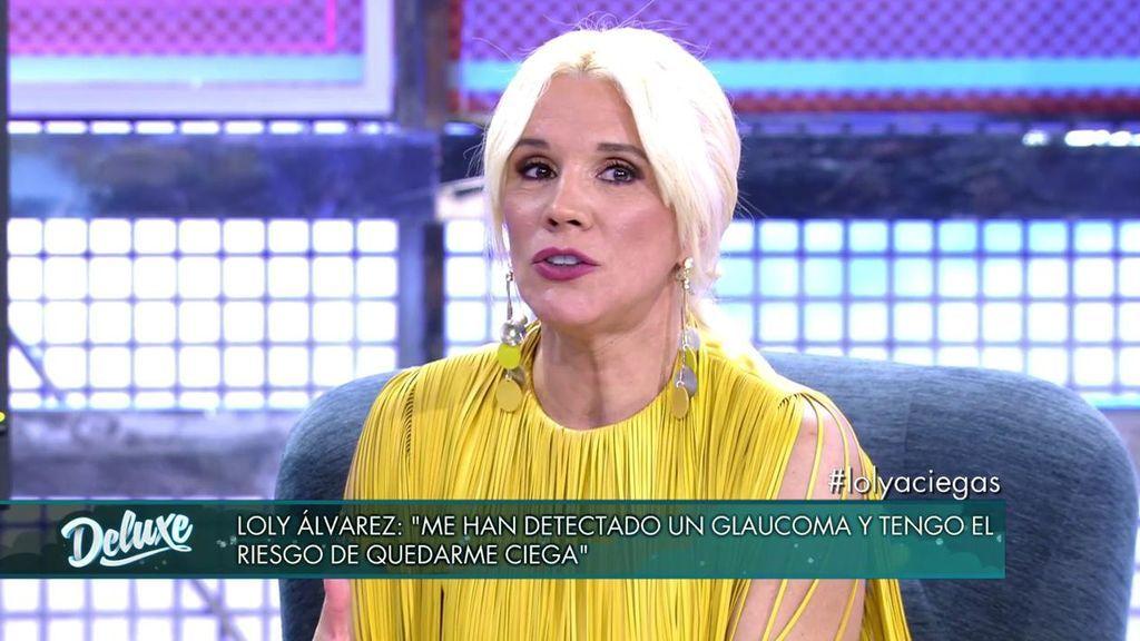 Loly Álvarez habla de sus problemas de salud