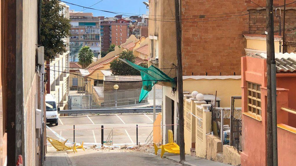 Badalona derrumbará este martes el edificio en mal estado del barrio La Salut
