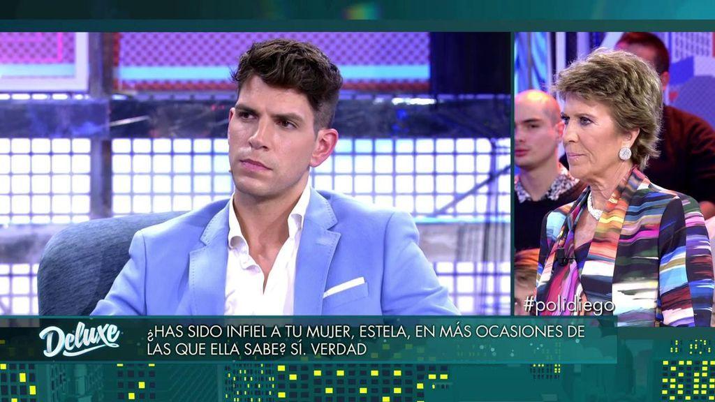 Diego ha estado con una presentadora de Mediaset
