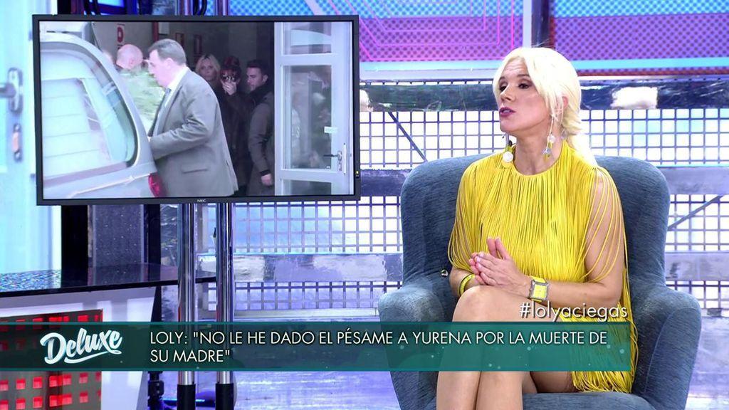 Loly Álvarez no dio el pésame a Yurena