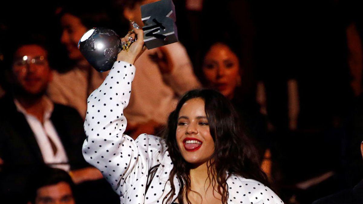 Lo mejor de los MTV: Rosalía se supera en unos premios con poderío femenino
