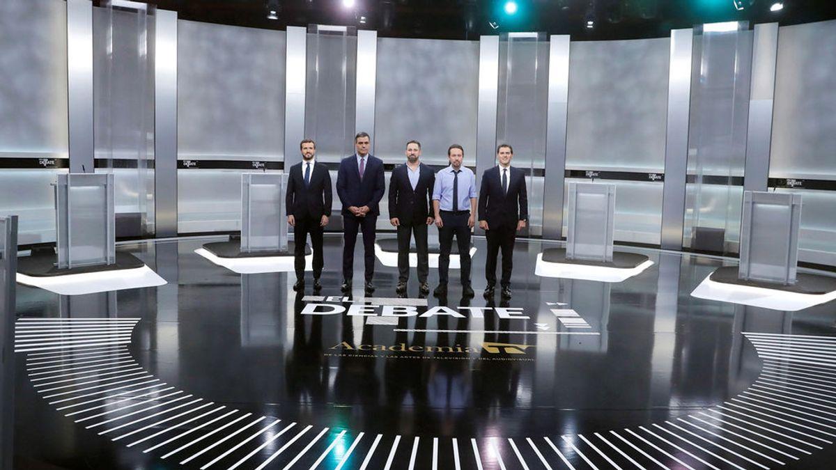 ¿Quien gana en el debate a cinco?