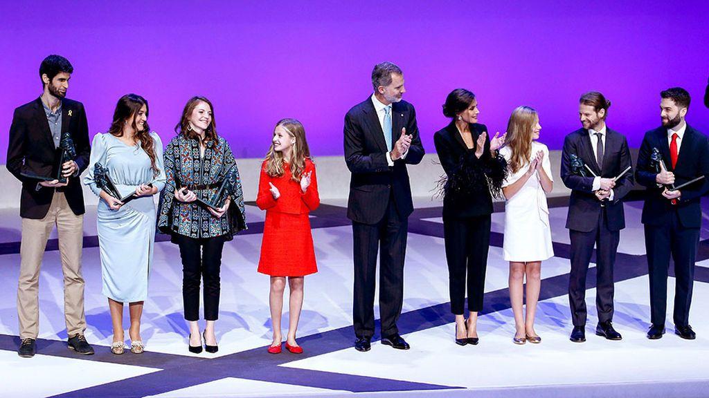 Un lazo amarillo, en los premios Princesa de Girona