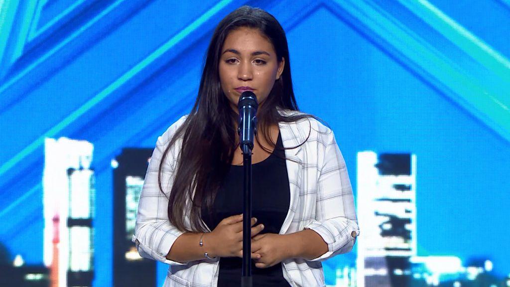"""Aya, de 17 años, emociona con su historia, su voz y su actuación: """"Sufrí bulimia y la música me salvó la vida"""""""