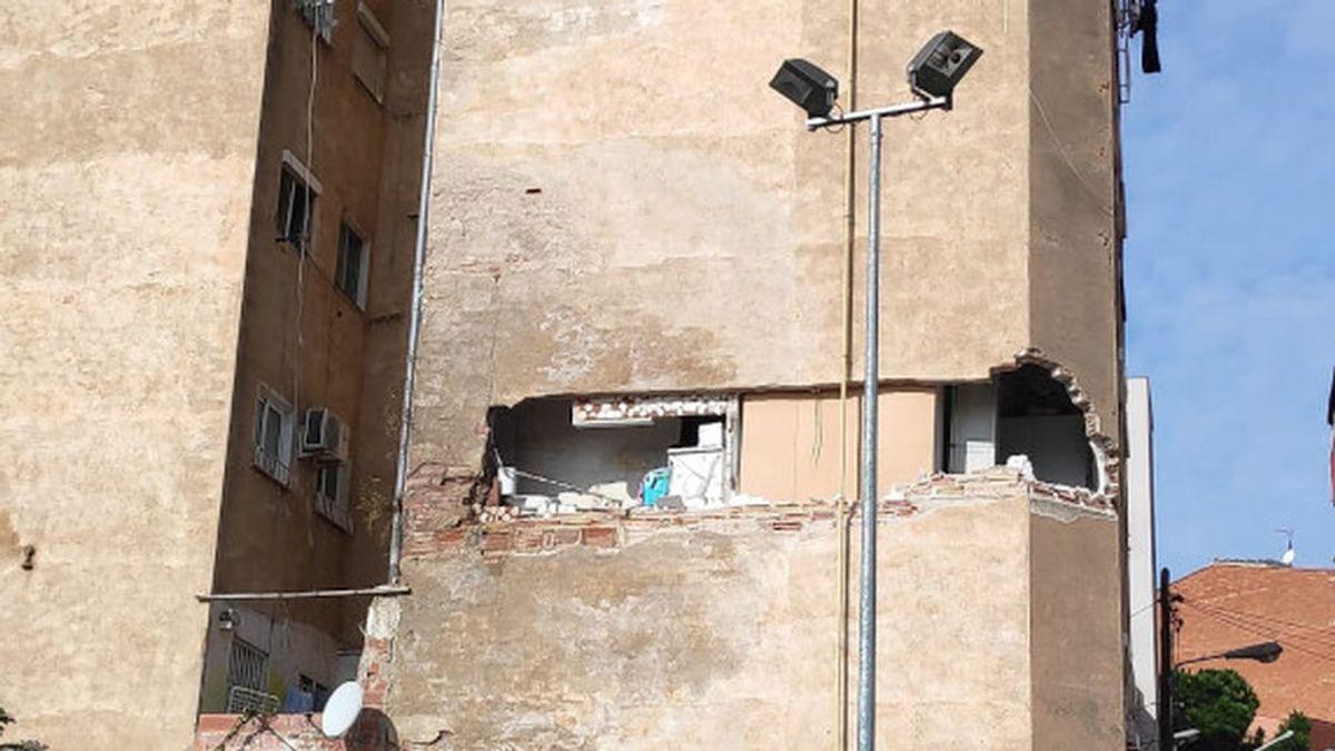 Derrumbe en Badalona: el edificio no había pasado la Inspección Técnica y los vecinos los sabían