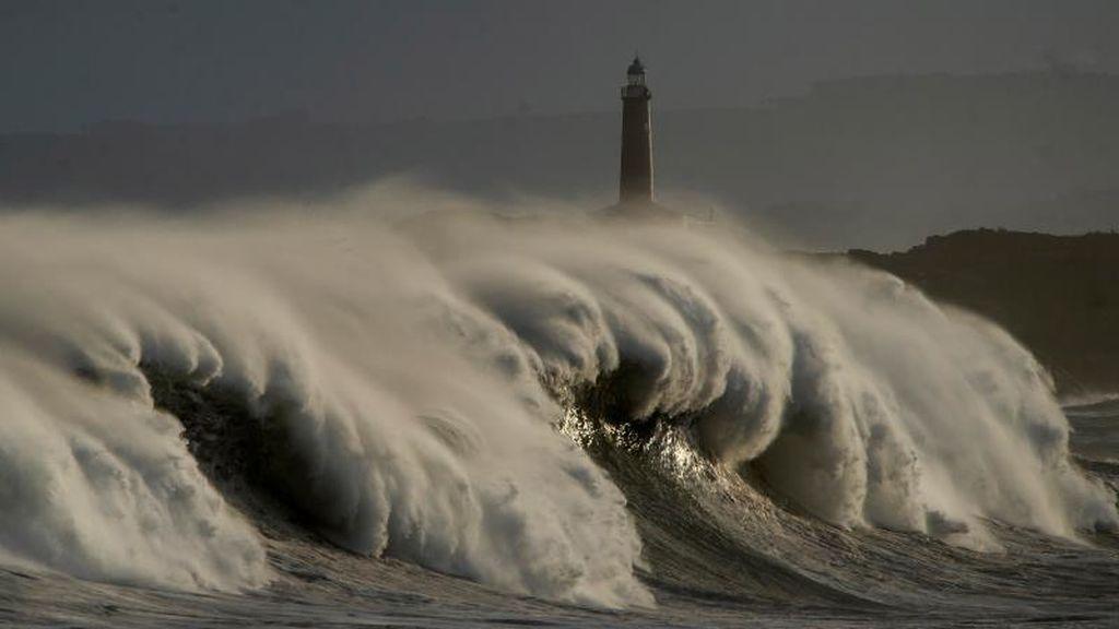 Alerta amarilla por fuertes vientos en gran parte del país