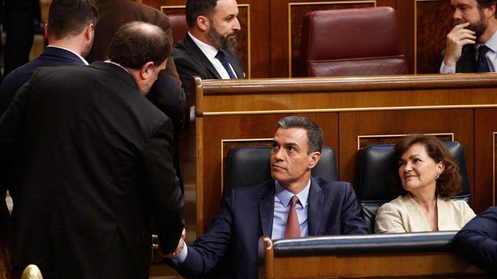 """Oriol Junqueras  a Pedro Sánchez: """"Su tiempo se está agotando. Yo no tengo prisa"""""""