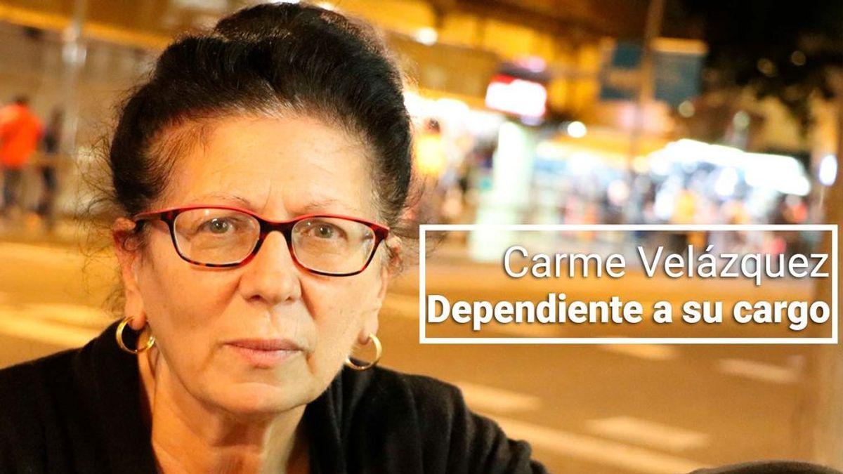 """Carme, 64 años, madre de una hija con una discapacidad del 94%: """"Ningún partido incluye en su programa electoral a las personas dependientes"""""""