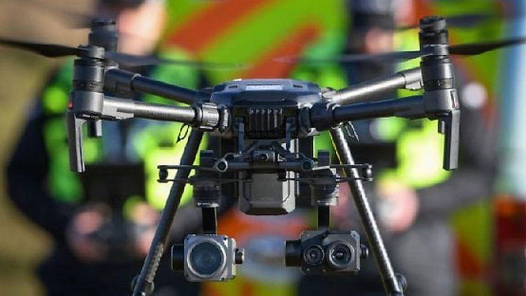 La Policía de Escocia buscará a desaparecidos y dispersos con drones con reconocimiento facial