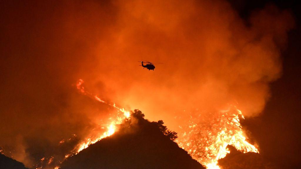 El fuego en California ya quema una superficie superior a la de San Francisco