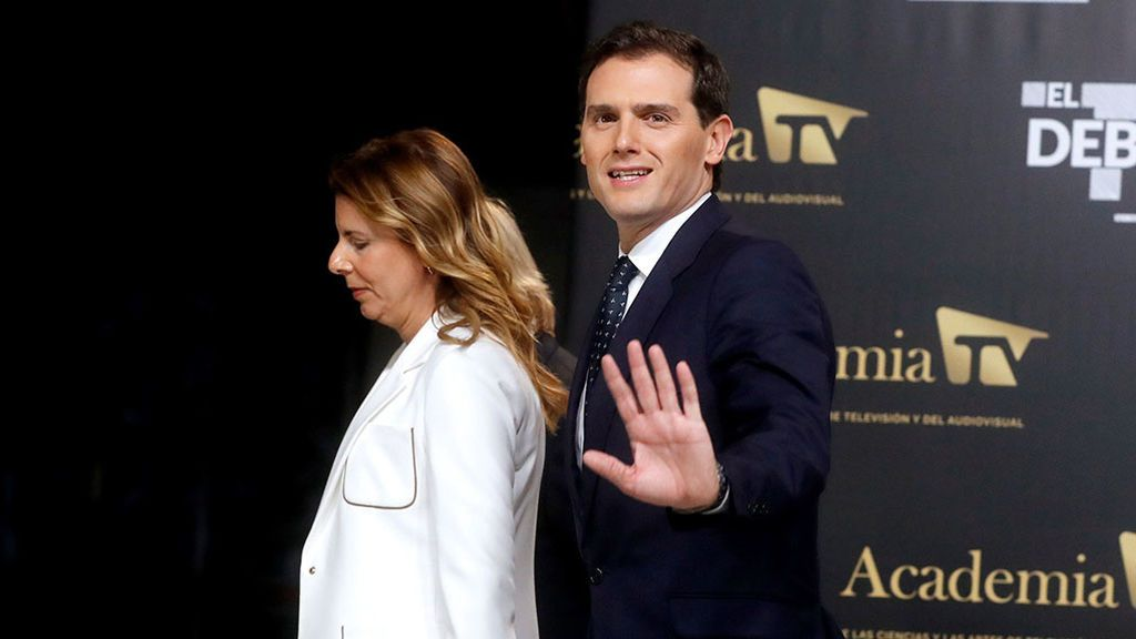Llegada Albert Rivera